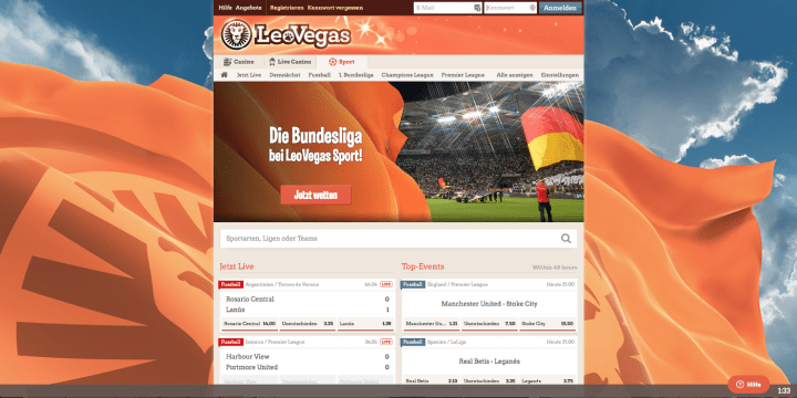 LeoVegas Sportwetten